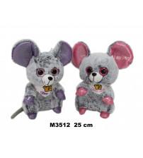Plīša pele 25 cm ( M3512) dažādas 152466