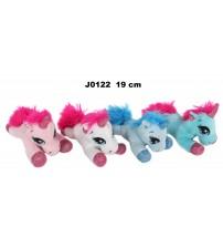 Plīša zirgs vienradzis 19 cm (J0122) dažādās 155382