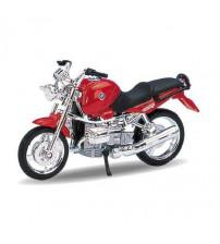 Metāla motocikls Welly BMW R110 R 1:18 kastē 19660PW-BMW