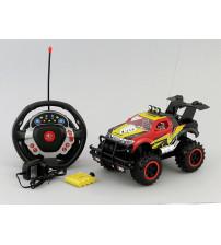 Radiovadāmā mašīna džips 4 virz. 1:14 25 cm 408487 6+