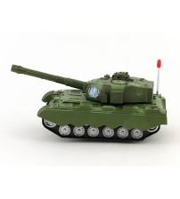 Tanks uz baterijā ar skaņu un gaismu (5 ritenis) 25 cm 423381