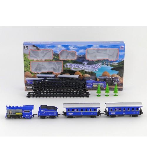 Dzelzceļš ar vilcienu un vagoniem 429383