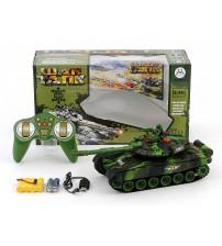 Radiovadāmāis tanks (gaisma, skaņa, 4 virz.) ar akkum. bater. 463806