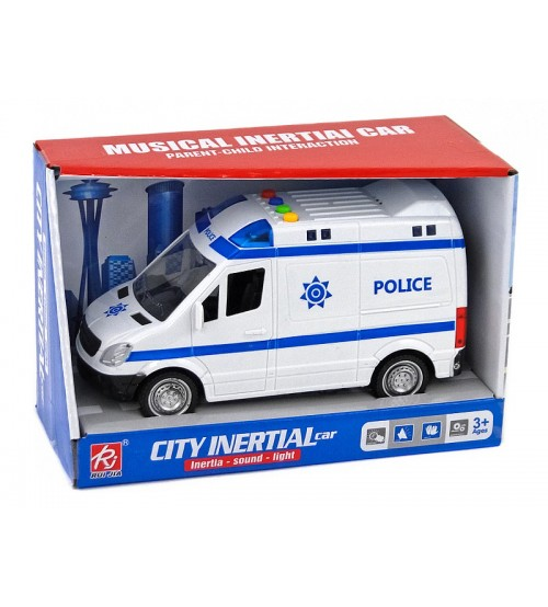 Policijas mašīna ar skaņu un gaismu 21 cm 487383