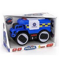 Policijas mašīna ar skaņu un gaismu 27.5x13x17 cm 505094