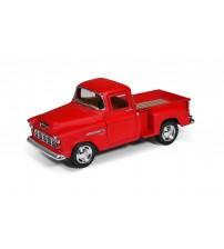 Metāla auto modelis 1955 Chevy Stepside Pick-up (Matte Color) 1:32 KT5330M