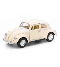 Metāla mašīnas modelis 1967 Volkswagen Classical Beetle (Pastel Color) 1:32 KT5375