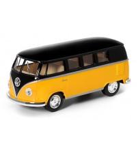Metāla auto modelis 1962 Volkswagen Classical Bus (Black Top) 1:32 KT5376