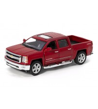 Metāla auto modelis 2014 Chevrolet Silverado 1:46 KT5381