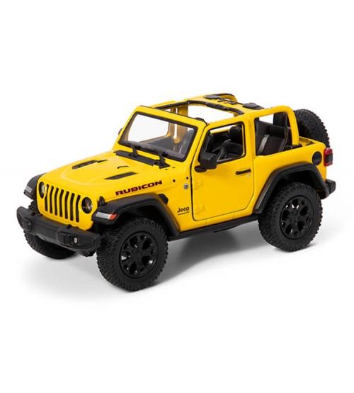 Metāla mašīnas modelis 2018 Jeep Wrangler (Open Top) 1:34 KT412A