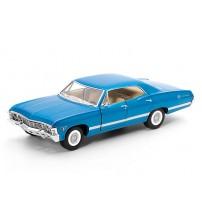 Metāla auto modelis  1967 Chevrolet Impala 1:43 KT5418