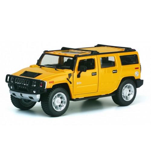 Metāla mašīnas modelis Hummer H2 2008 suv 1:32 KT7006