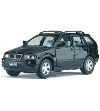 Metāla auto modelis BMW X5 1:36 kastē KT5020W
