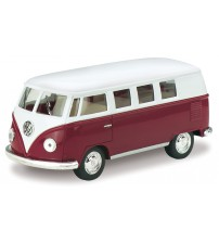 Metāla auto modelis 1962 Volkswagen Classical Bus 1:32 KT5060