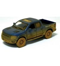 Metāla auto modelis Ford F-150 SVT Raptor SuperCrew (Muddy) 1:46