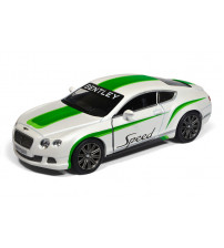 Metāla auto modelis  2012 Bentley Continental GT Speed w/ printng 1:38 kastē KT5369FW