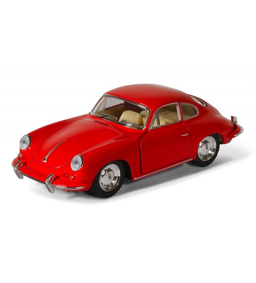 Metāla auto modelis Porsche 356 B Carrera 2 kastē 1:32 KT5398W