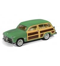 Metāla auto modelis 1949 Ford Woody Wagon 1:40 kastē KT5402W