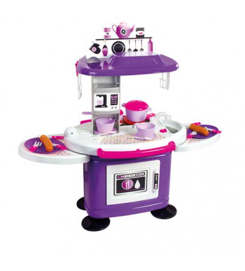 Bērnu virtuves plīts ar 26 piederumiem  78 сm 11051