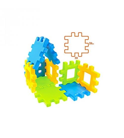 Konstruktors bērnu Mega kluči 20 elementi 39x39 cm 11237
