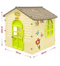 Bērnu dārza mājiņa 1.22x1.2x1.2 cm 11558