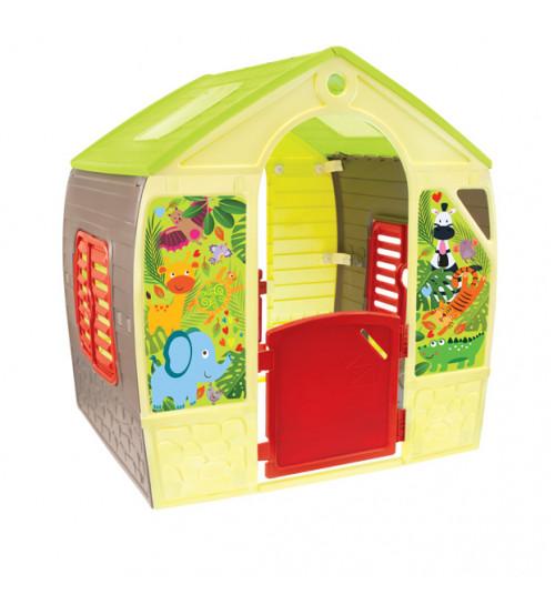Bērnu dārza mājiņa HAPPY HOUSE 102x88x108 cm 11976