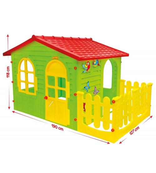 Bērnu dārza mājiņa 1,9x1,27x1,18 cm 10498