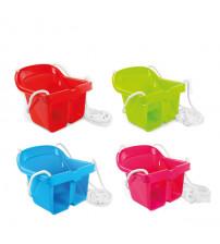Bērniem  šūpolītes  plastamas svars līdz 25 kg 10034 dažādas krāsas