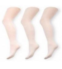104-110 cm zeķubikses mikrofibra žakarda baltās meitenēm RA-24-104-110