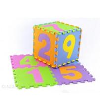 Paklājs grīdas puzzle 9 elementi 30x30 cm cipāri 405639