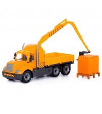 Mašīna lielā manipulātors + konstruktors (30el.) (530х192х260) 3+ PL55606