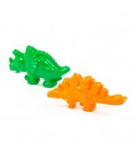 Smilšu formiņas komplekts Dinozauri 2 detaļas PL57426