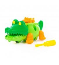 """Konstruktors """"Krokodils"""" (17 elementi) 19,5 cm PL84446"""
