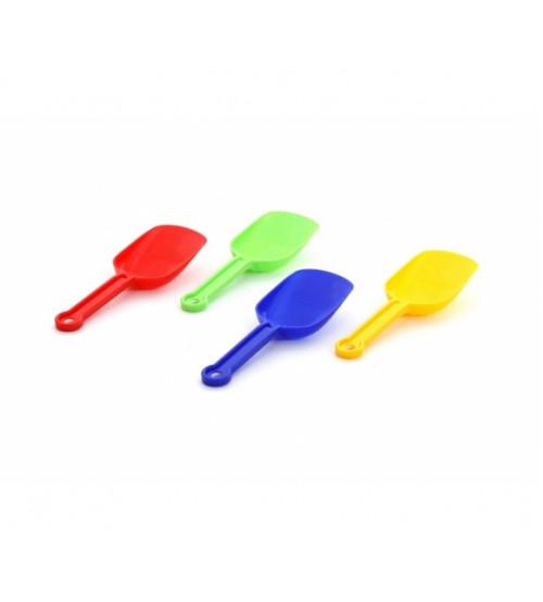 Lāpstiņa plastmasas dažādas 18 cm PL39620