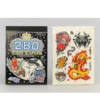 Tetovējumi bērnu zēniem drakoni, dzivnieki, tiģeri 280 gab. 455917