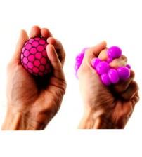 """Antistresa bumbiņa  """"Pumpainā""""  Mesh Squich Ball TG393584 dažādas krāsas"""