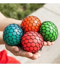 """Antistresa bumbiņa  """"Pumpainā""""  Mesh Squich Ball TG400562 dažādas krāsas"""