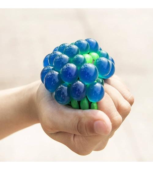 """Antistresa bumbiņa  """"Pumpainā""""  Mesh Squich Ball TG380126 dažādas krāsas"""