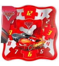 Koka puzzle pulkstenis CARS 13 elementi 18 m+ 6652CAR-B
