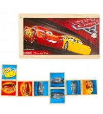 Koka domino Cars 28 elementi 3+ 8109CAR
