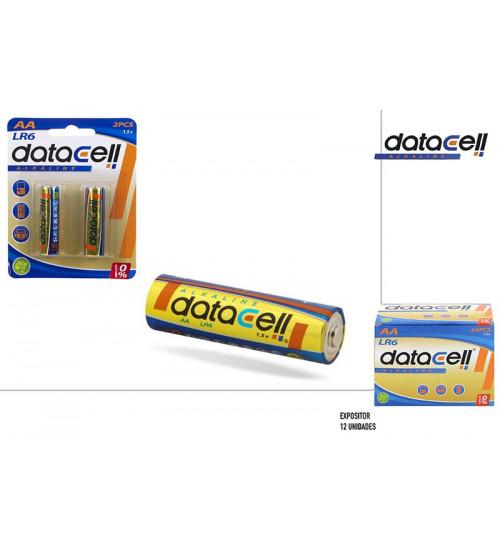 Baterijas AA LR6 Alcaline DATACELL CB13906
