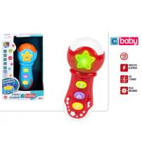 Muzikāla rotaļlieta Mikrofons ar skaņu un gaismu CB43517