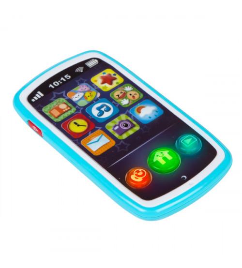 Muzikālais telefons ar skaņām 14 cm no 6 men. CB44523