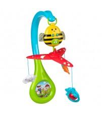 Karuselis muzikālais uz baterijam ar plastm. rotaļlietam CB44532