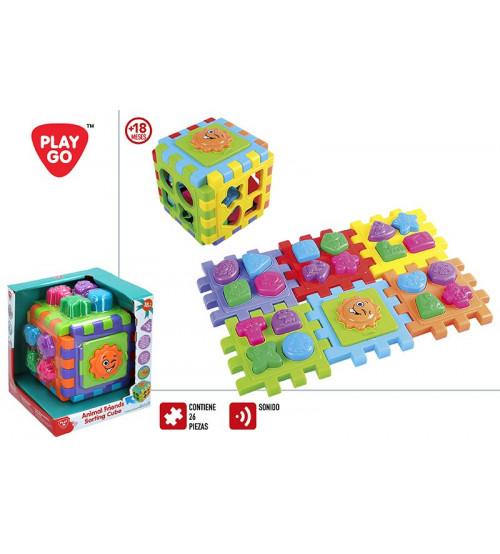 Figūru šķirotājs (sorteris) Puzzle 18 men+ CB44882
