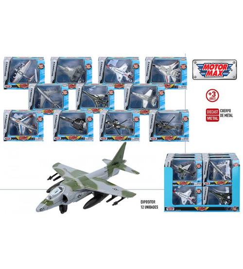 Lidmašīna / helikoptērs metāliskā dažādas 11 cm CB44981