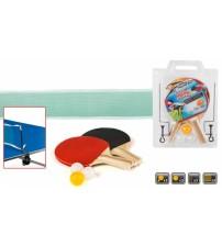 Galda tenisa komplekts (tīkls, raketes, 3 bumbiņas) CB52375