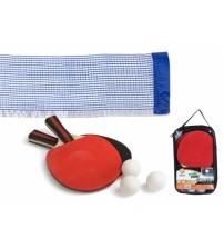 Galda tenisa komplekts (tīkls, raketes, 3 bumbiņas) CB52487