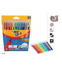Flomāsteri (mazgājami) BIC Kids  12 gb. CB70902