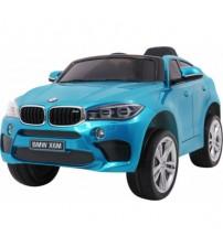 Akumulatoru licenzēta vienvietīga bērnu mašīna BMW X6M radiovadāmā 09-458